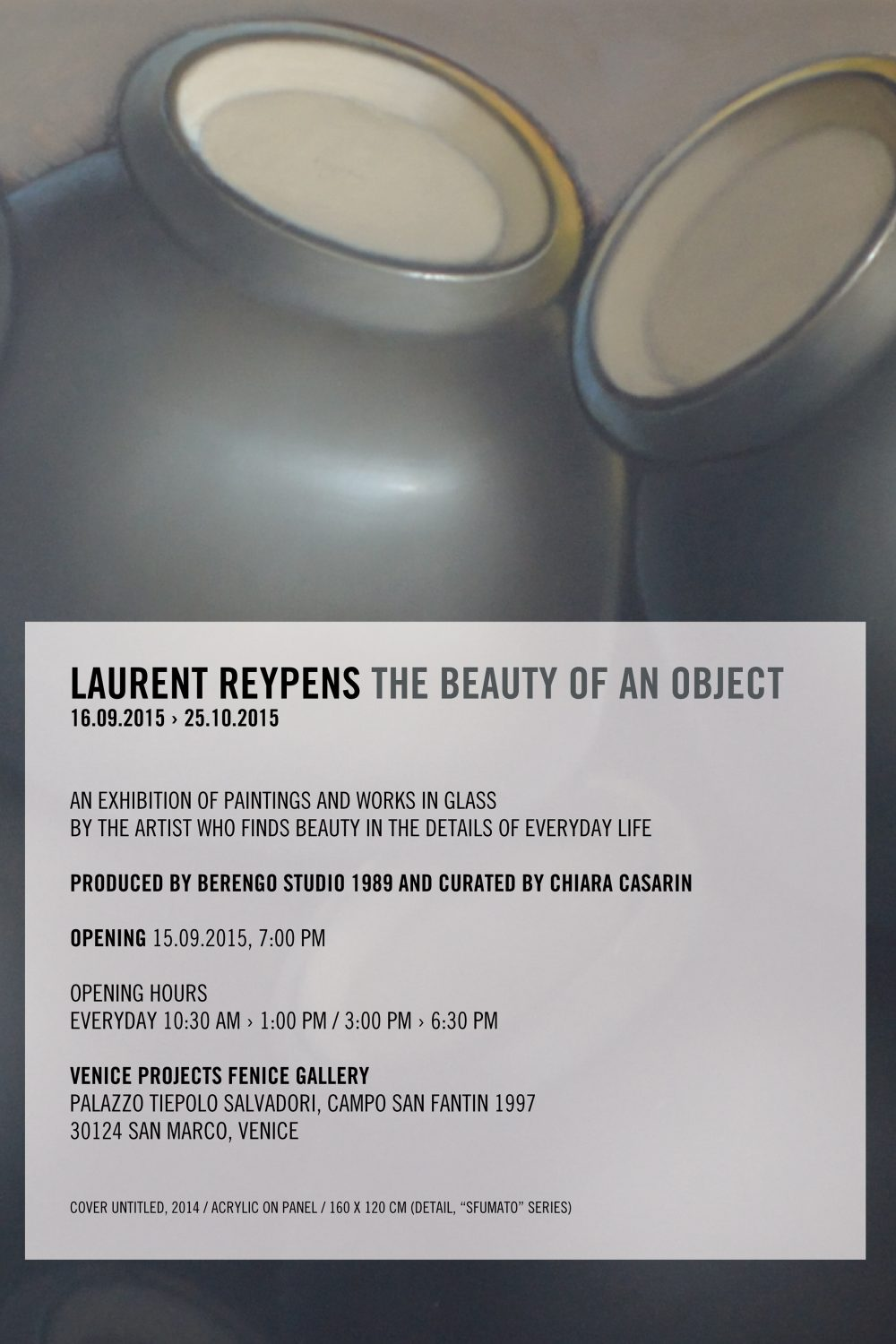 THE BEAUTY OF AN OBJECT / L.REYPENS